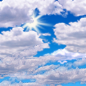 Mostly cloudy, with a high near 78.